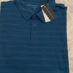 John Varvatos Blue Polo